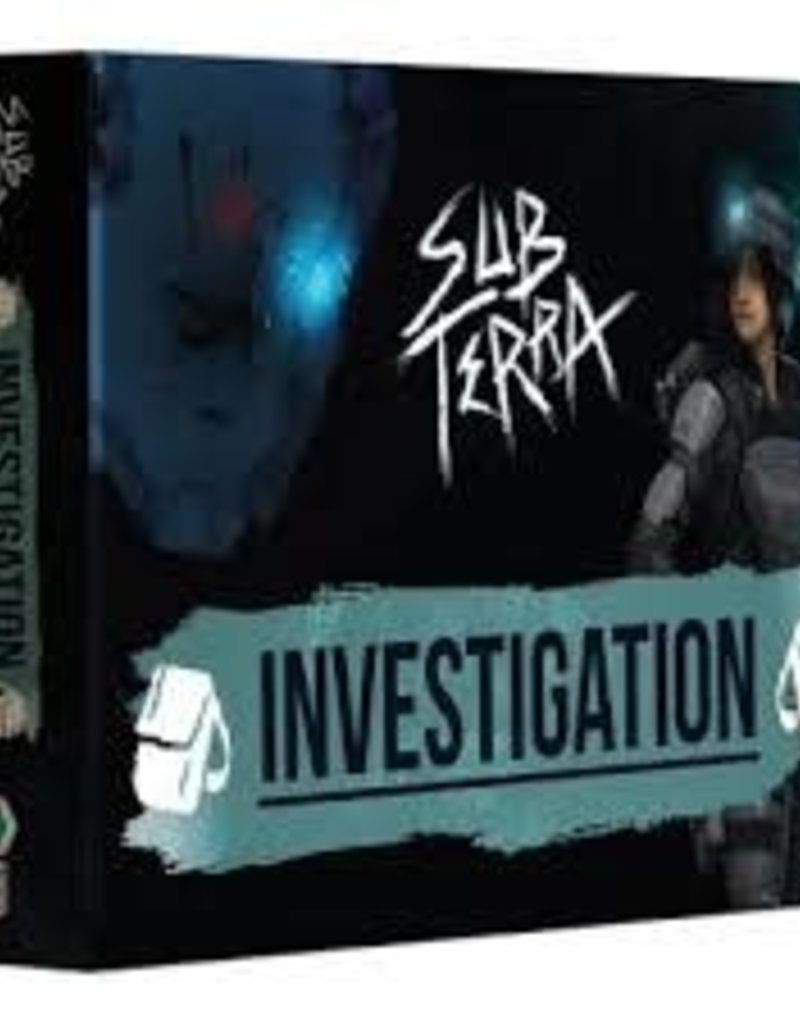 Inside the Box Board Games Sub Terra: Ext. Investigation (EN)