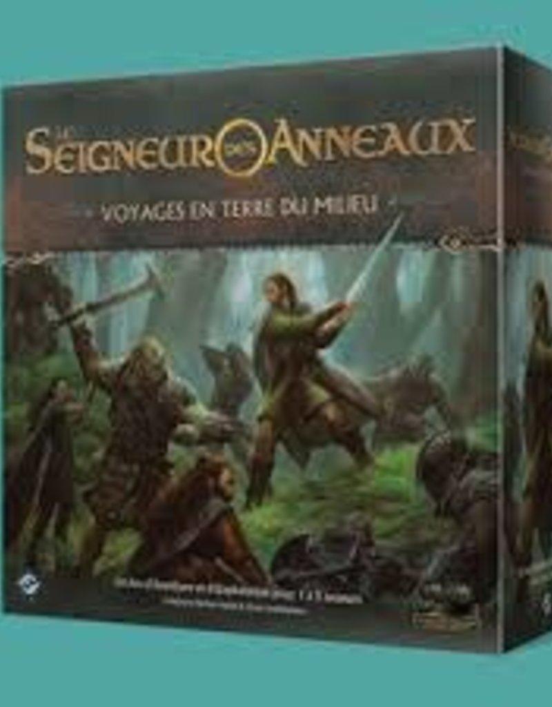 Fantasy Flight Games Le Seigneur Des Anneaux: Voyages En Terre Du Milieu (FR)