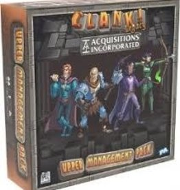 Renegade Game Studio Précommande: Clank!: Legacy Aquisitions Incorporated: Upper Management Pack (EN)