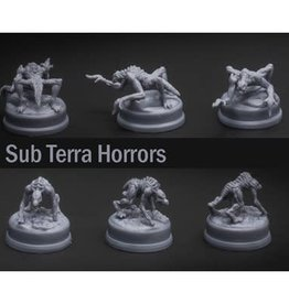 Inside the Box Board Games Sub Terra: Ext. Horror Miniatures (ML)