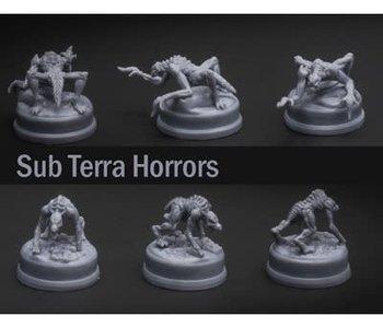 Sub Terra: Ext. Horror Miniatures (ML)