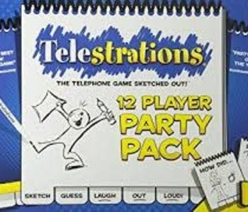 Telestrations: 12 Player Party Pack (EN)