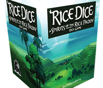 Rice Dice: A Spirits Of The Rice Paddy: Dice Game (EN)