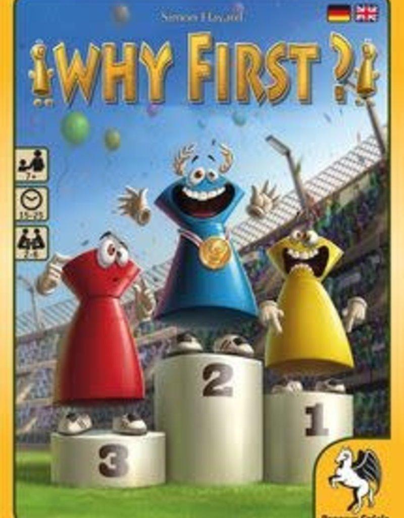 Pegasus Spiele Why First ?! (EN)