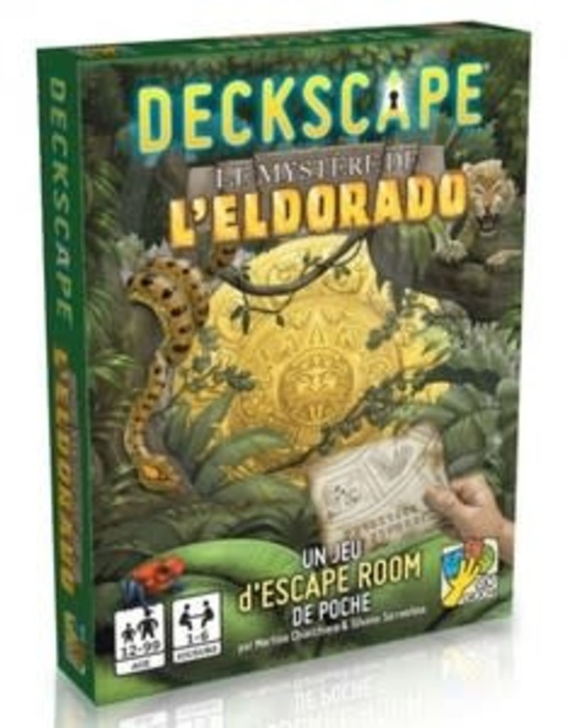 Super Meeple Deckscape:  Le Mystère De L'Eldorado (FR)