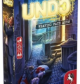 Pegasus Spiele Précommande: Undo: Blood In The Gutter (EN)