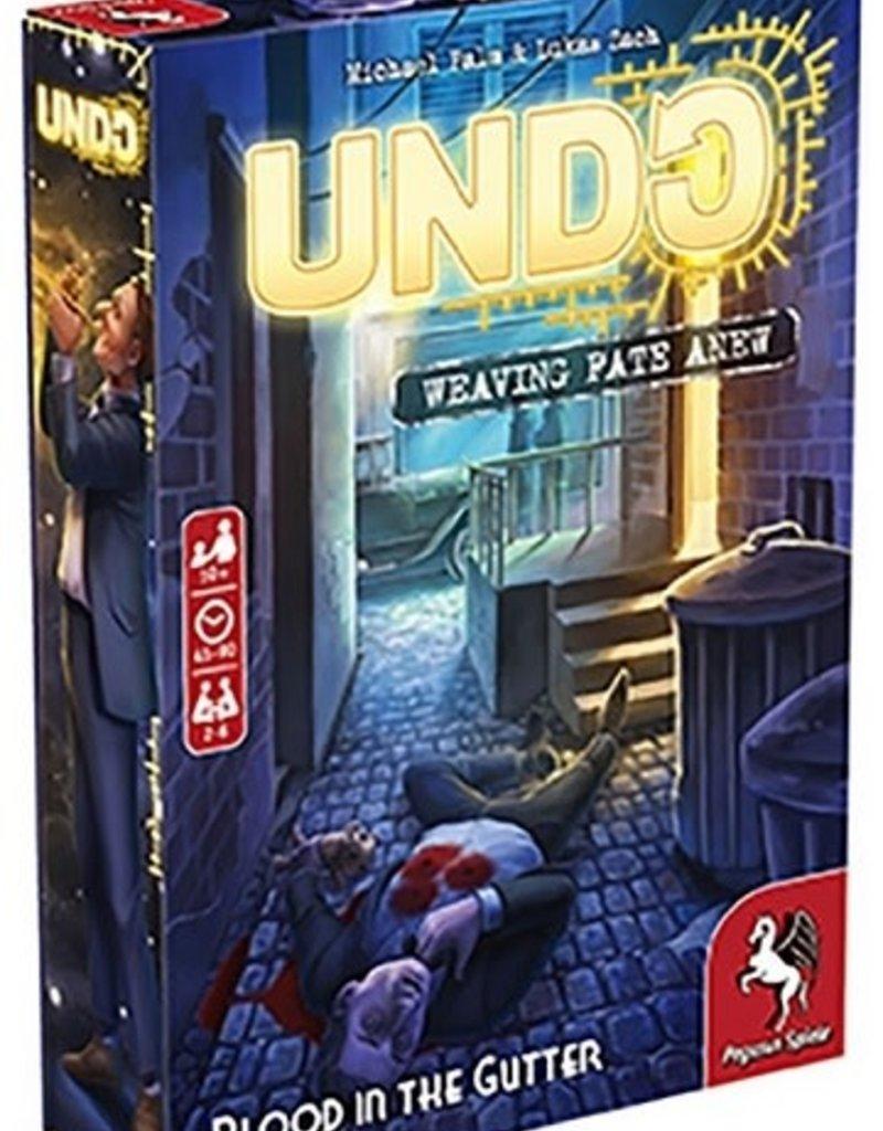 Pegasus Spiele Précommande: Undo: Blood In The Gutter (EN)
