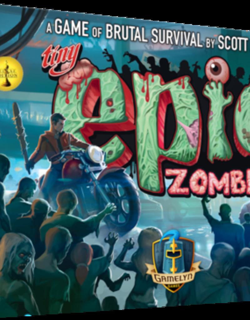 Gamelyn Games Solde: Tiny Epic: Zombies (Deluxe version Kickstarter) (EN)