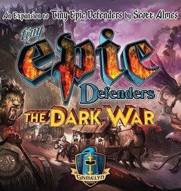 Pixie Games Précommande: Tiny Epic: Defender: Ext. Dark War (FR)