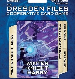 evil Hat Productions The Dresden Files Cooperative Card Game: Ext. 5 Winter Schemes (EN) (Commande spéciale)