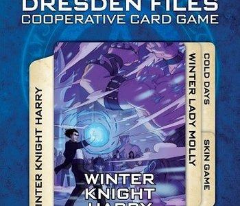 The Dresden Files Cooperative Card Game: Ext. 5 Winter Schemes (EN) (Commande spéciale)
