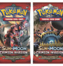 Pokemon Pokemon: Sun & Moon Crimson Invasion Booster (EN) (Commande Spéciale)