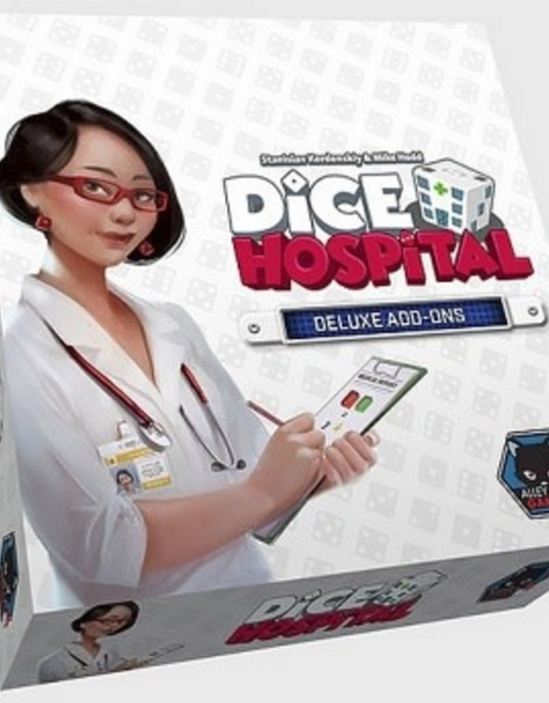 Alley Cat Games Dice Hospital: Deluxe Edition (EN) 2 Items (commande spéciale)