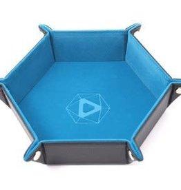 Die Hard Die Hard Dice Tray Hexagone - Bleu Sarcelle (Commande Spéciale)