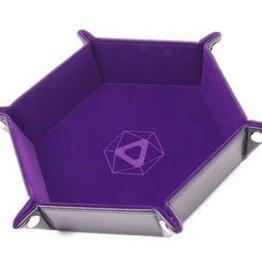 Die Hard Die Hard Dice Tray Hexagone - Pourpre (Commande Spéciale)