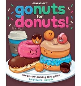 Gamewright Précommande: Go Nuts For Donuts ! (EN)