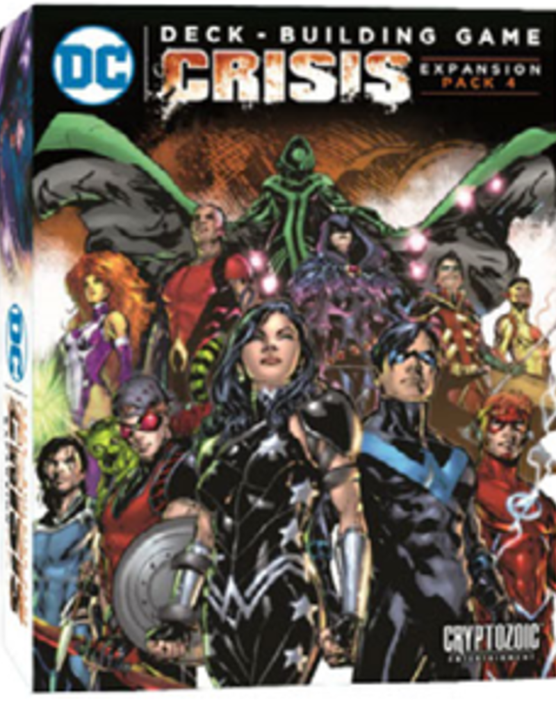 Cryptozoic Entertainment DC Comics DBG: Ext. Crisis Pack 4 (EN) (commande spéciale)