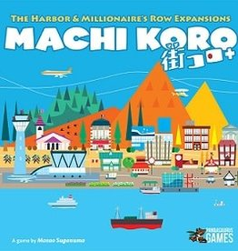 Pandasaurus Machi Koro: 5th Ann.: Ext. Harbor And Millionaire's Row (EN)