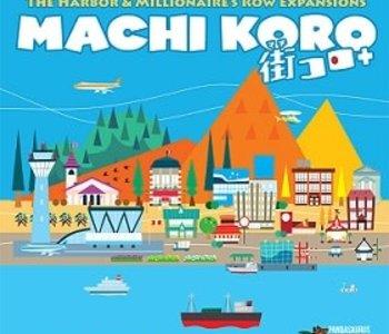 Machi Koro: 5th Ann.: Ext. Harbor And Millionaire's Row (EN)