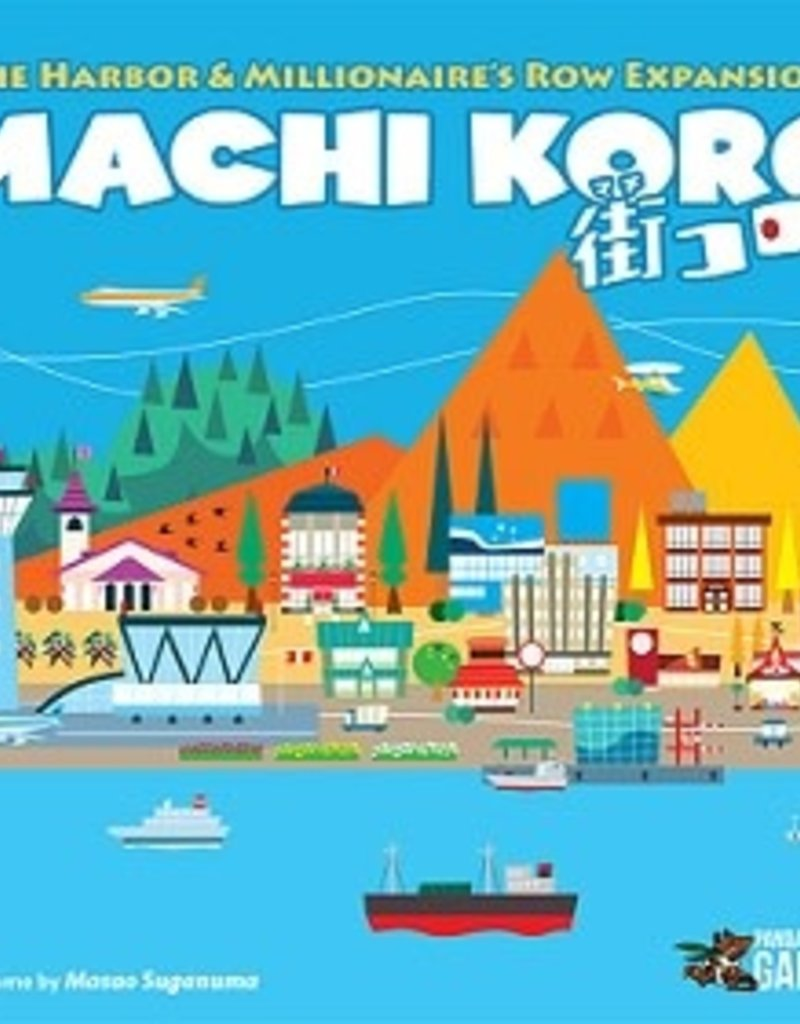 Pandasurus Machi Koro: 5th Ann.: Ext. Harbor And Millionaire's Row (EN)