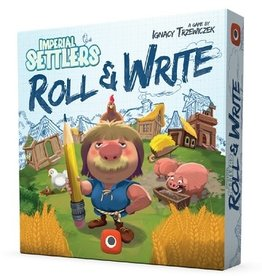 Portal Games Imperial Settlers: Roll & Write (EN)