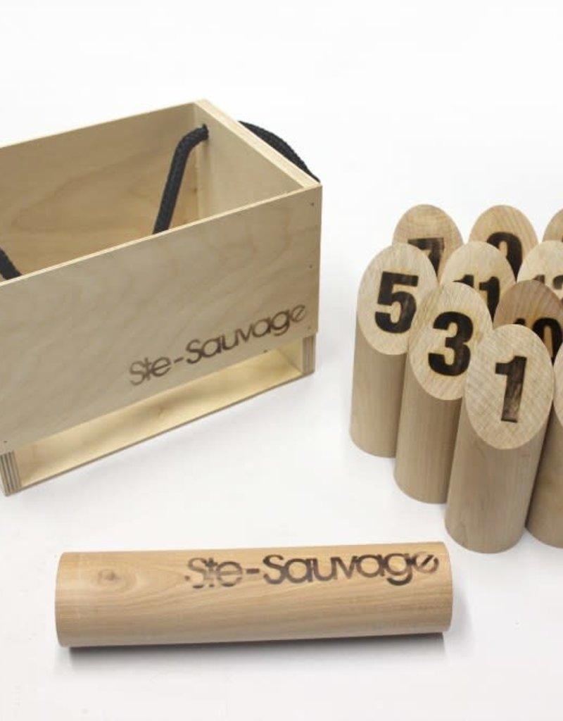 Ste-Sauvage Quilles Ste-Sauvage: Boîte en Bois (ML)