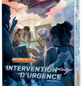 Z-Man Games, Inc. Pandemic: Intervention D'Urgence (FR)
