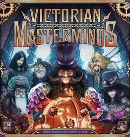 CMON Precommande: Victorian Masterminds (FR)