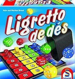Schmidt Spiele Ligretto: De Dés (FR)