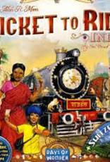 Days of Wonders Les Aventuriers du Rail: Ext. Inde Suisse (ML)