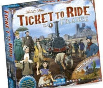 Les Aventuriers du Rail: Ext. France Old West (ML)