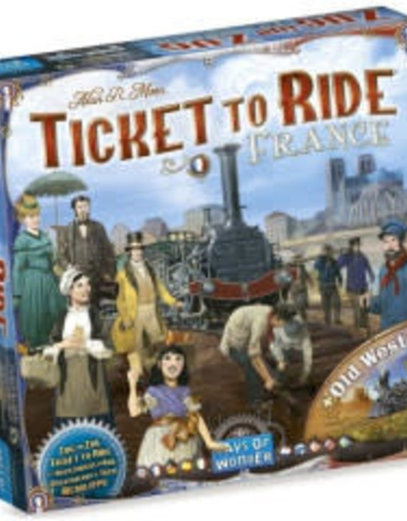 Days of Wonders Les Aventuriers du Rail: Ext. France (ML)