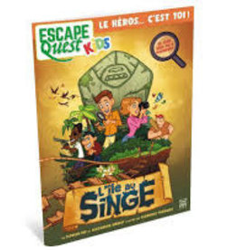 Ynnis Édition Escape Quest Kids: L'ile Au Singe (FR)