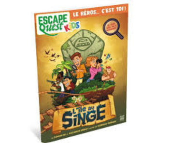 Escape Quest Kids: L'ile Au Singe (FR)
