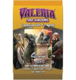 Daily Magic Valeria: Card Kingdoms: Ext. 3 Agents (EN) (commande spéciale)