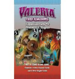 Daily Magic Valeria: Card Kingdoms: Ext. 4 Peasants & Knights (EN) (commande spéciale)
