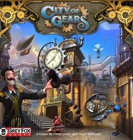 Grey Fox Games City of Gears (EN) (commande spéciale)