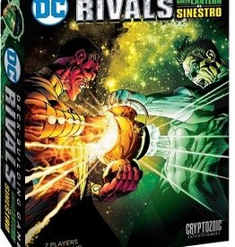 Cryptozoic Entertainment Dc Comics: Rivals: Ext. Green Lantern Sinestro