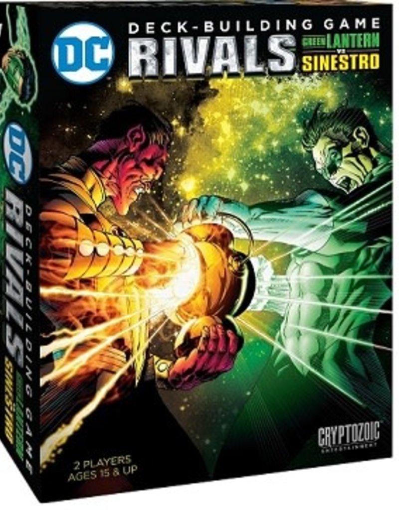 Cryptozoic Entertainment Dc Comics: Rivals: Ext. Green Lantern Sinestro