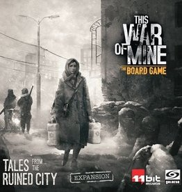 Ares Games This War Of Mine: The Board Game: Ext. Tales From The Ruined City (EN) (Commande spéciale)