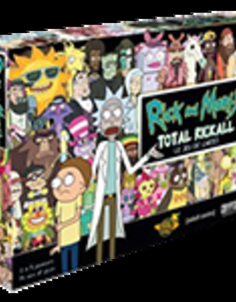 Don't Panic Games Rick And Morty: Total Rickall: Le Jeu De Cartes (FR)