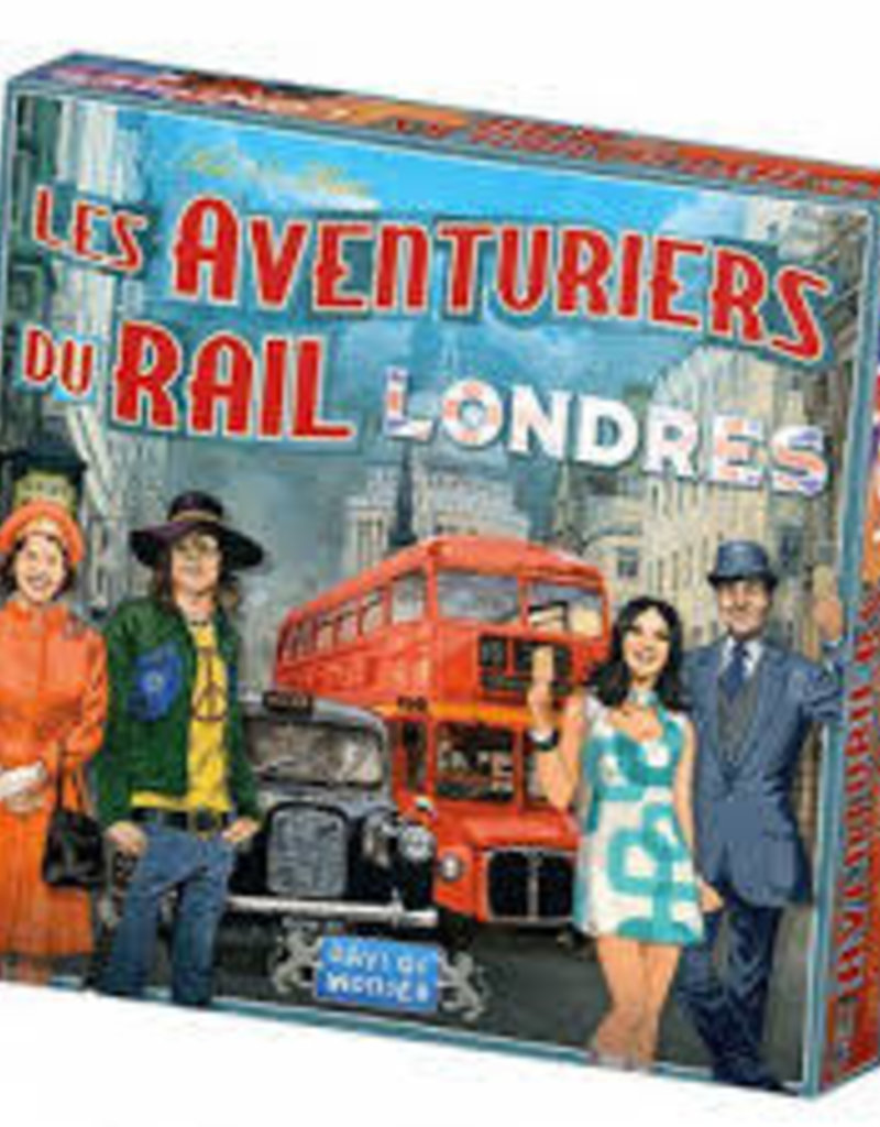 Days of Wonder Aventuriers du Rail: Express: Londres (FR)