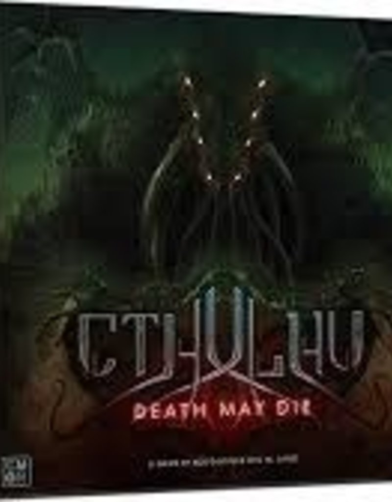 Précommande: Cthulhu: Death May Die (EN)