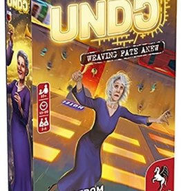 Pegasus Spiele Undo: A Curse From The Past (EN)