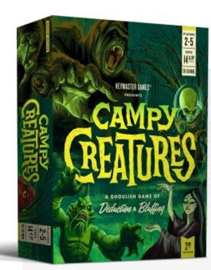 Keymaster Games Campy Creatures (Second Edition) (EN)