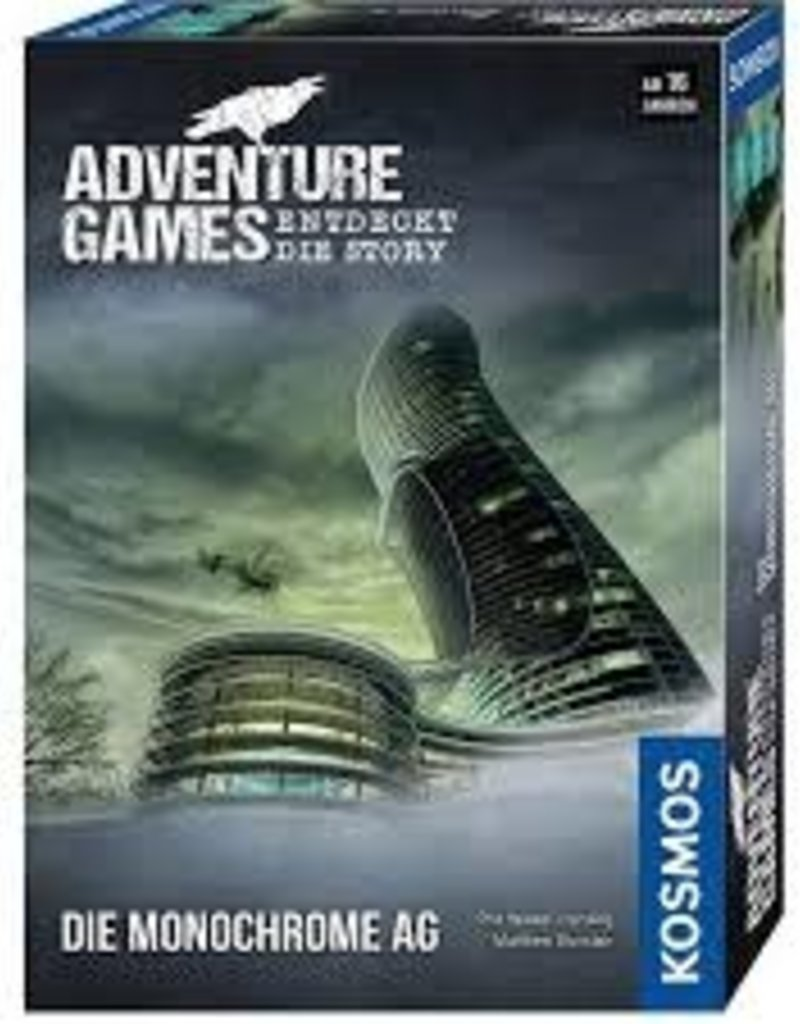 Thames & Kosmos Adventure Games: Monochrome Inc. (EN)
