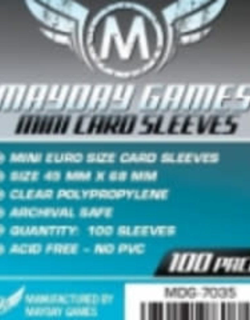 Mayday Games Sleeves - MDG-7035 «Mini-Euro» 45mm X 68mm / 100