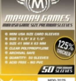 Mayday Games 7075 Sleeve «mini-USA» 41mm X 63mm Deluxe / 50