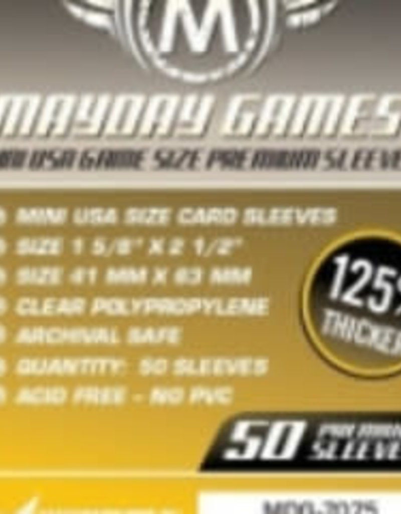 Mayday Games Sleeves - MDG-7075 «Mini-USA» 41mm X 63mm Deluxe / 50