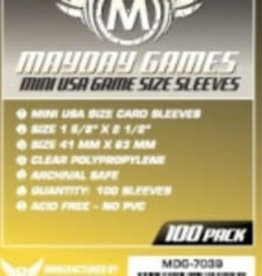 Mayday Games Solde: 7039 Sleeve «mini-USA» 41mm X 63mm / 100